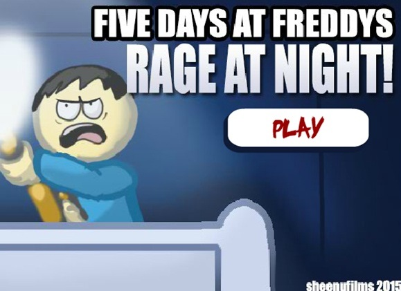Five Days at Freddy's Rage at Night!